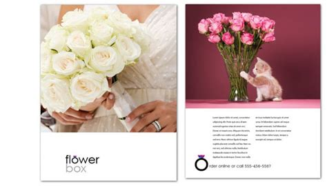 Wedding Flowers Free Brochure by Florist Flyer Images Search
