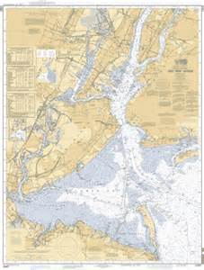 New York Harbor Map by