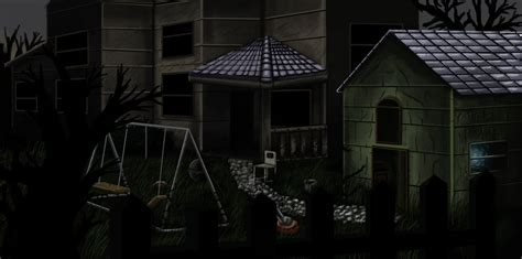 haunted backyard ideas possessed haunted backyard by osirislord on deviantart