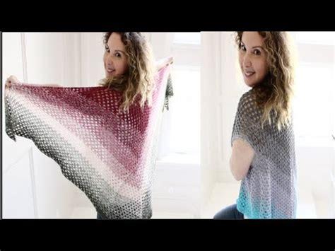 youtube tutorial shawl simple easy crochet boho shawl vest tutorial youtube