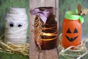 diy halloween decorations mason jar luminaries