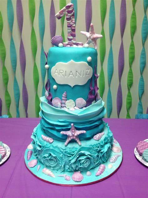 105 best images about Cakes   Under the Sea on Pinterest