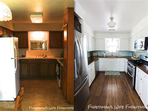 kitchen remodel soffit ceiling countertops diy flooring