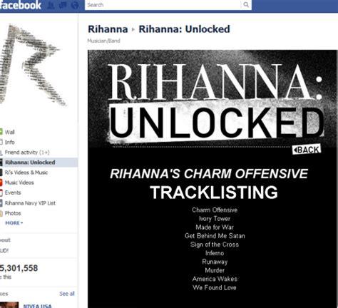 Rihanna Album Tracklist And Listen To The Entire Album Now by Tracklist Du Nouvel Album De Rihanna 192 D 233 Couvrir