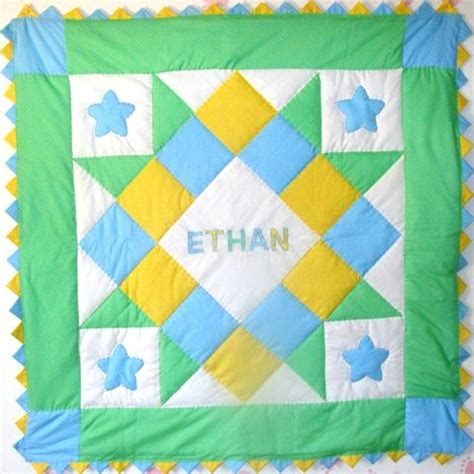 baby boy quilt personalized baby boy quilt quilting