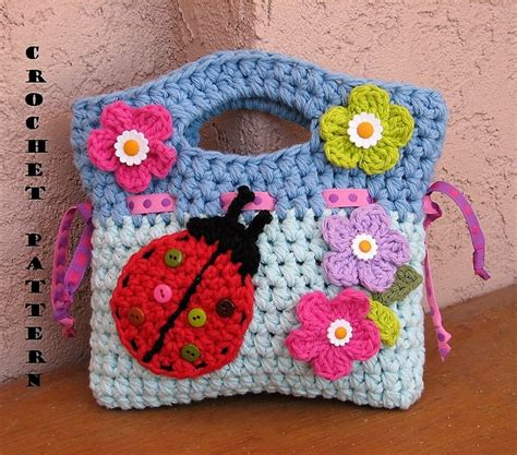 Handmade Crochet Designs - awesome handmade crocheted bag patterns 1001 crochet