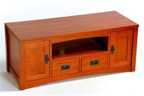 mission style 48 quot tv stand living room and