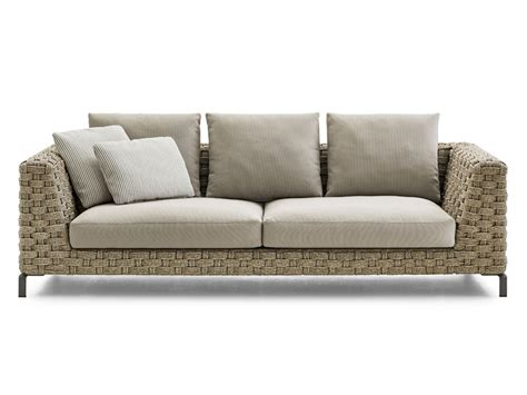outdoor sofa uk b b italia ray outdoor sofa natural by antonio citterio