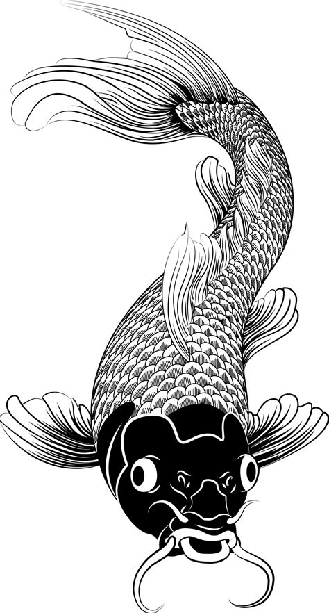 black and white koi fish tattoo koi fish tattoos for