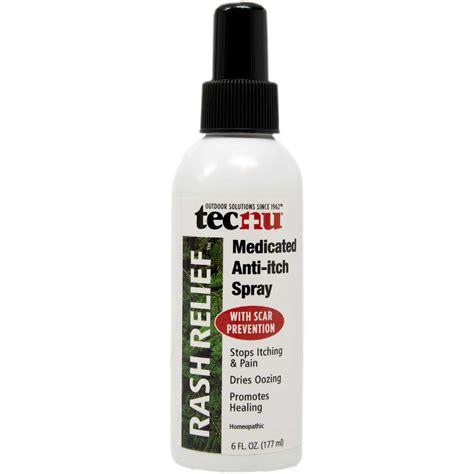 itch spray tecnu rash relief medicated anti itch spray 6 oz spray ebay