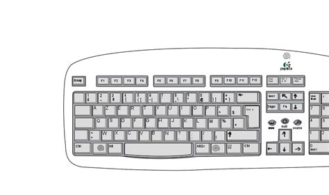 coloring pages keyboard computer qwerty keyboard clipart 26