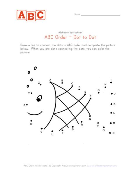 printable alphabet dot to dot worksheets 5 best images of free abc dot to dot printables free