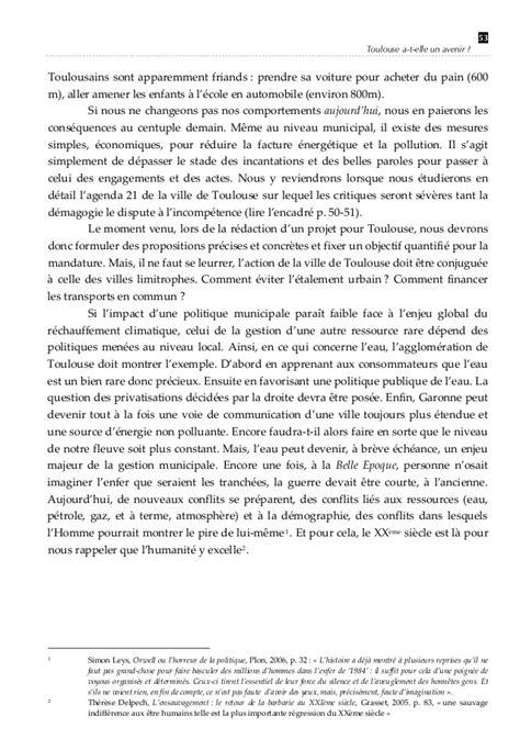 Toulouse a-t-elle un avenir ? (Chapitre 3)