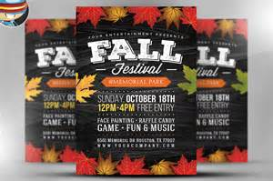Fall Festival Flyer Templates Free by Fall Festival Flyer Template 2 Flyer Templates On