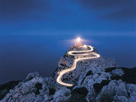 "Non woven photomural ""Cap Formentor"" by Stefan Hefele"