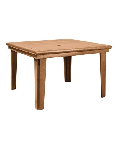 Cr Plastic Products T10 47 Quot Square Dining Table Square Dining Table For 10