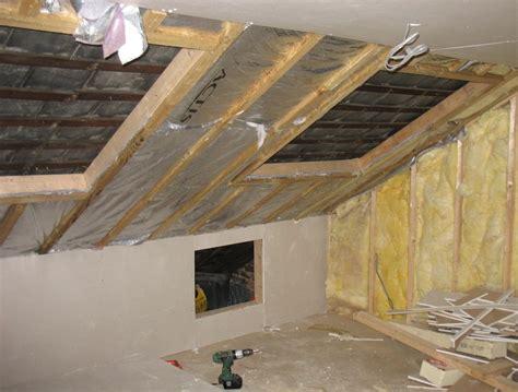 insulate  loft conversion thegreenage