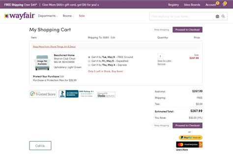Wayfair Gift Card Discount - coupon code for wayfair mega deals and coupons
