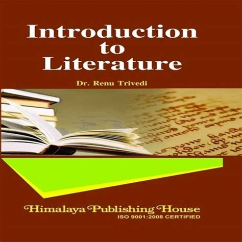 introduction to literature introduction to literature for vi sem bmm buy