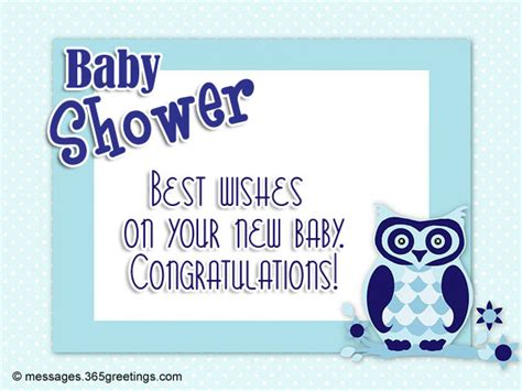 Baby Shower Congratulations Messages by Baby Shower Messages And Greetings 365greetings