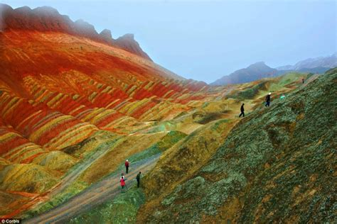 colorful mountains ellergy china s beautiful colorful mountains
