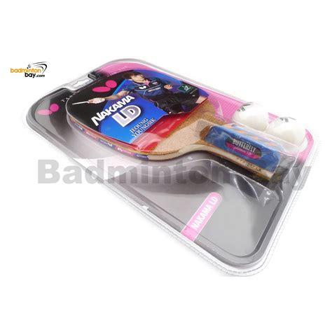 Bat Pingpong Butterfly Nakama S Series S2 Butterfly Nakama Ld Penhold Table Tennis Wood Racket