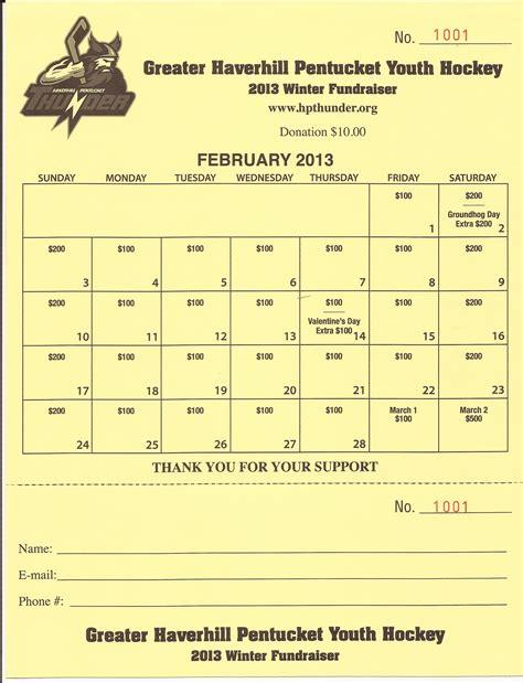 Calendar Fundraiser Calendar Fundraiser Greater Haverhill Pentucket Youth Hockey
