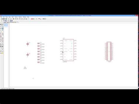 eagle layout tutorial youtube eagle cad tutorial part 1 schematic design youtube