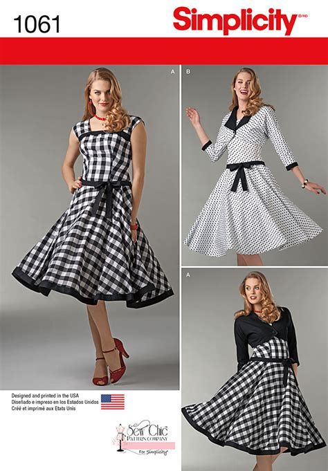 pattern review best of 2015 simplicity 1061 misses sew chic dress and lined jacket