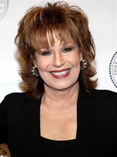 suitable length of hair for a sixty year old layered medium hairstyle for women over 60 joy behar