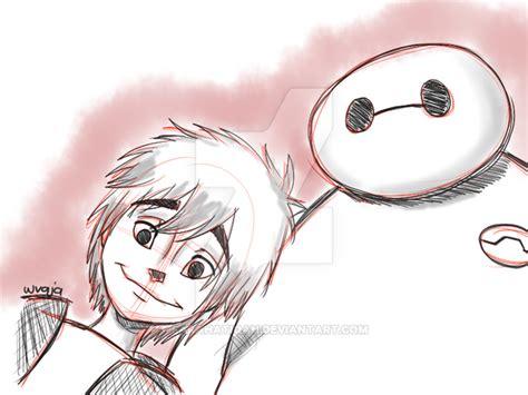 doodle baymax hiro and baymax doodle by farahatiqah on deviantart