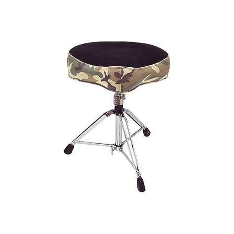 Pork Pie Drum Stool by Pork Pie Big Boy Camouflage Drum Throne Musician S Friend