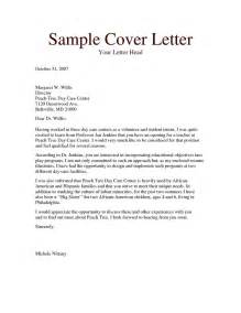 how to write a cover letter for volunteering 25 unique cover letter exle ideas on resume