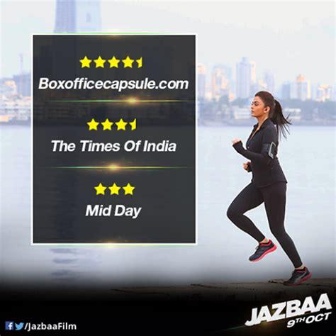 bookmyshow odeon jazbaa movie 2015 upcoming bollywood film 2015