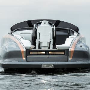 lexus boat price lexus launches a stunning and speedy 42 foot sport yacht