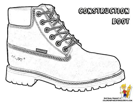 Coloring Pages For Boots Coloring Home Boots Coloring Pages
