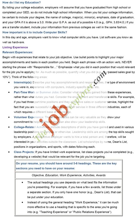 job resume examples perfect resume examples perfect job resume