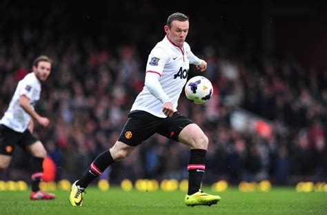 manchester united wayne rooney goal nike opts out manchester united jersey deal will adidas