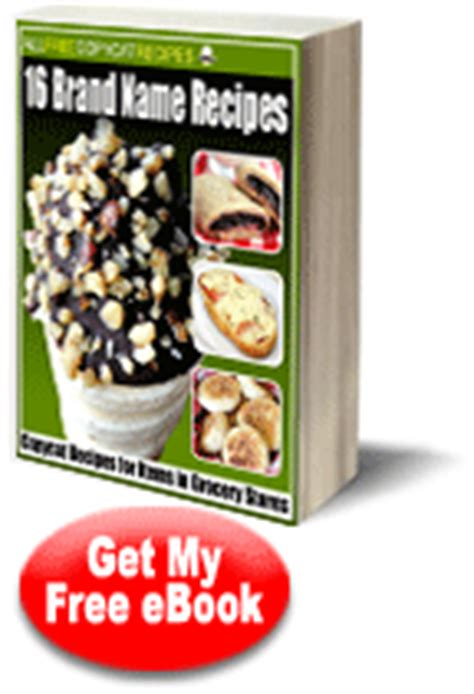 quot 16 brand name recipes copycat recipes for items in