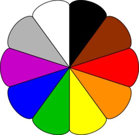 Colourful Basic Clip color wheel clip at clker vector clip