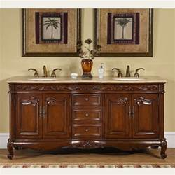 Bathroom Vanities With Double Sinks by Silkroad Exclusive Hyp 8034 T 72 Quot Double Bathroom Vanity