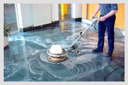 commercial cleaning floor care strip and wax
