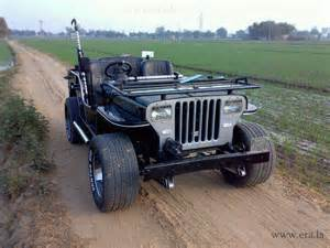 Modefied Jeep Modified Mahindra Jeep Photo