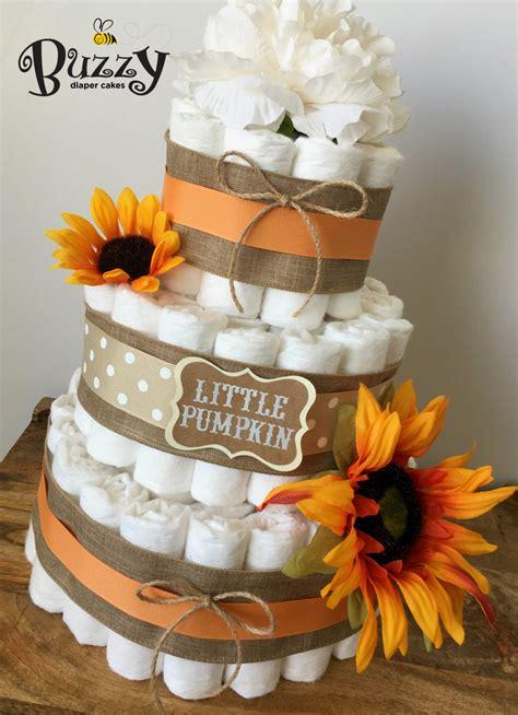 Fall Baby Shower by Fall Cake Orange Sunflower Baby Shower Gender