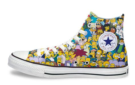 Sepatu All Warna Warni All 174 The Simpsons Shoes Up