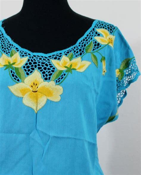 Black Yellow Flower Shirt Size Sml 168 mejores im 225 genes sobre richelieu cutwork embroidery en