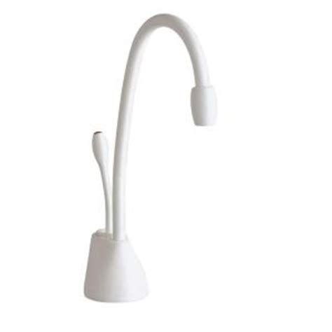 Insinkerator Water Dispenser Faucet Only by Insinkerator Indulge White Instant Water