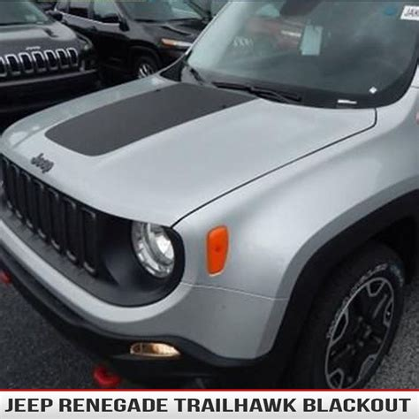 jeep hood decals jeep renegade hood blackout