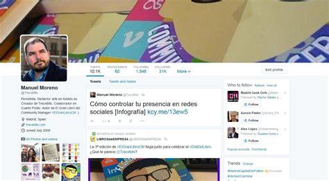 imagenes para perfil twitter el nuevo perfil de twitter ya est 225 disponible para todos