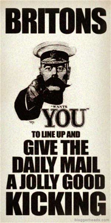 Kitchener Wants You by The Daily Mail Let S Kick And Take Names Bloggerheads